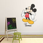 Personalised Disney Mickey Mouse Children's Wall Sticker Vinyl Decal Transfer