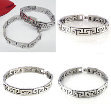 Brand New Titanium Bracelet Male Bangle Hand Chain bracelet Casual Men Jewelry