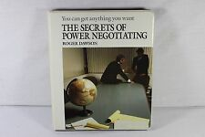 The Secrets of Power Negotiating Roger Dawson Audio Course 6-Cassettes