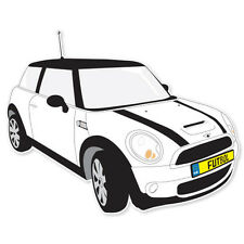 """Mini Cooper S car bumper sticker decal 4"""" x 5"""""""