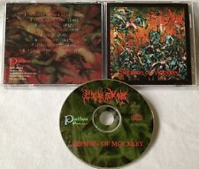Pyrexia - Sermon Of Mockery CD OOP 1998 PATHOS PRODUCTIONS rottrevore seance