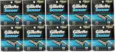Mens Gillette Sensor Razors Blades, 100 Cartridges, FREE SHIPPING
