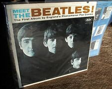 SALE! 50 YEAR OLD MEET THE BEATLES ORIGINAL  1BMI FAT WAX #3 ON THE BACK WOODY