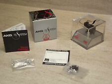 NEW Vintage and Original AKG P6E Stereo Cartridge & Elliptical Stylus N.O.S