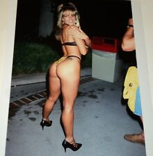 RACQUEL DARRIAN /  HOT!   8 X 10  COLOR  PHOTO