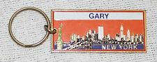 New York City Skyline Key Chain - Personalized with Gary