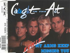 CAUGHT IN THE ACT  My Arms Keep Missing You reMix CD Single NEW 1995 SAW ZYX