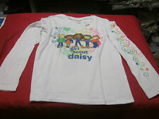 DAISY GIRL SCOUTS LONG SLEEVE TEE SHIRT GIRLS LARGE (14-16 ) SALE