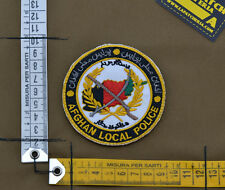 """Ricamata / Embroidered Patch """"Afghan Local Police"""" with VELCRO® brand hook"""