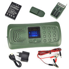 20W Speaker MP3 Player Bird Decoy Bird Caller Remote Control Outdoor Hunting