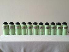 Vintage Mid Century Jadite Spice Jars / Shakers Rare Complete Set 11 total