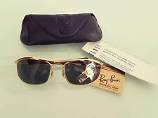 New Vintage B&L Ray Ban Olympian I Deluxe L0255 Biker Easy Rider Very Rare NOS