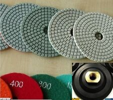 4 Inch Diamond Polishing Pad 25 Pieces Stone Granite Concrete Marble Countertop