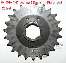 AMC gearbox sprocket 23 teeth Norton Ritzel 520 chain 5/8x1/4 Dominator ES2