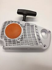 RECOIL STARTER FITS STIHL MS 192T, PART # 1137-080-2108, BOLT ON AND SAW, NEW
