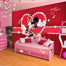 Disney Minnie Mouse - Forwall - Fototapete - Tapete - Fotomural - Mural Wandb...