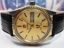 RADO PURPLE HORSE DAY/DATE STEEL AUTOMATIC MEN'S WATCH
