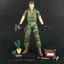 "Resident Evil Series 3 Camo CHRIS REDFIELD 7"" Action Figure Palisades 2002"