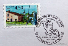 MAISON JEANNE D ARC  FRANCE  Yt 3002 OBLITERATION 1er JOUR NOTICE PHILATELIQUE