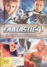 FANTASTIC 4 - 1 & 2: Rise of Silver Surfer : NEW DVD