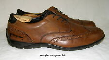 """Pirelli Men's """"Primo"""" Driving Shoes..Brown Leather Wing Tip Look...8.5...AUC"""