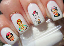 Frida Kahlo Nail Art Stickers Transfers Decals Set of 38