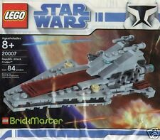 LEGO Star Wars Brickmaster 20007 Republic Attack Cruiser Venator Class 84 Teile