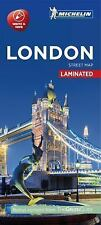 Michelin London City Map - Laminated by Michelin Travel Publications Staff...