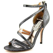 NIB Badgley Mischka Women's Landmark II Strappy Dress Sandal w.bag METALLIC 10M