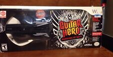 Guitar Hero Warriors Of Rock Guitar Controller For Wii with Manual **READ**