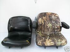 CAMO SEAT FOR JOHN DEERE COMPACT TRACTOR 670,770,790,870,970,990,1070,3005 #JH