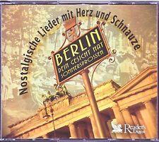 Berlin, dein Gesicht hat ...  Nostalgische Lieder-  Reader's Digest  5 CD Box