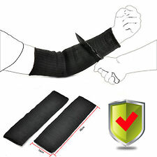 A Pair Steel Wire Cut-Proof Stab-proof Anti Abrasion Armband Sleeve Bracers