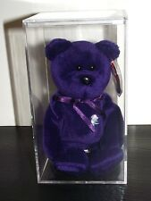 Ty Beanie Babies Princess PVC no space and no factory number Very Rare