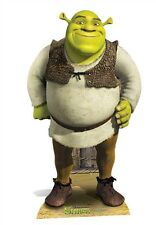 Shrek Green Ogre MINI Cardboard Cutout Stand Up Standee Great for fans & Events