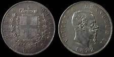 pci898) Regno Vittorio Emanuele II  lire 5 scudo 1872