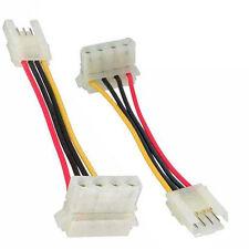 """Inline adaptador de electricidad, 8,89cm (3,5"""") a hembra 13,34cm (5,25"""") conector Molex, 6cm"""