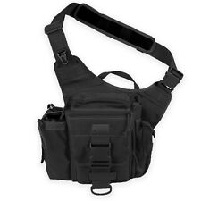 FULL SPEC Maxpedition Jumbo Versipack Mens Shoulder Sling Camera Bag Pack Black
