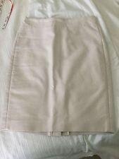 NWT JCrew No. 2 pencil skirt size 0 off-white