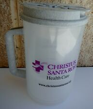 Plastic Insulated Christus Santa Rosa Thermo 30oz Mug & Lid with Straw