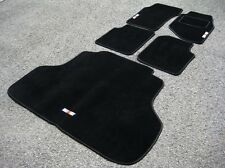 Car Mats to fit Mitsubishi Lancer Evolution 3 RHD (Evo III)+ Boot Mat + RalliArt