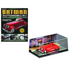 Eaglemoss Batman Automobilia Car Collection Detective Comics #27 Red Batmobile