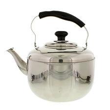 Large 7 Qt. 6.8 L Stainless Steel Tea Kettle Teapot Coffee Pot Water Boiler