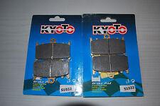 Frente Pastillas de freno Kawasaki ZZR600 D1-D3 E1-E13 Semi Metallic 1990 a 2007