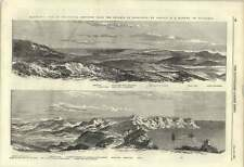 1855 Panoramic View Of Sebastopol From Balaklava Heights