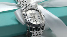 Tiffany & Co. Mark Coupe Resonator Wristwatch Stainless Steel Quartz Mens Watch