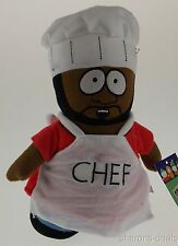 "Comedy Central South Park Chef Jerome Plush 9"" Cafeteria Worker Bendable Figure"