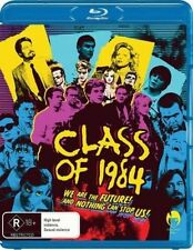 CLASS OF 1984 (1982 Michael J Fox)  Blu Ray - Sealed Region B