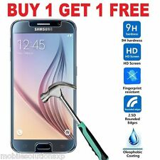 Premium Tempered Glass Cover Screen Guard Protector For Samsung Galaxy S6 2 Pack