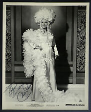 Mae West Autograph Signed Photograph 8750 Original Not Facsimile